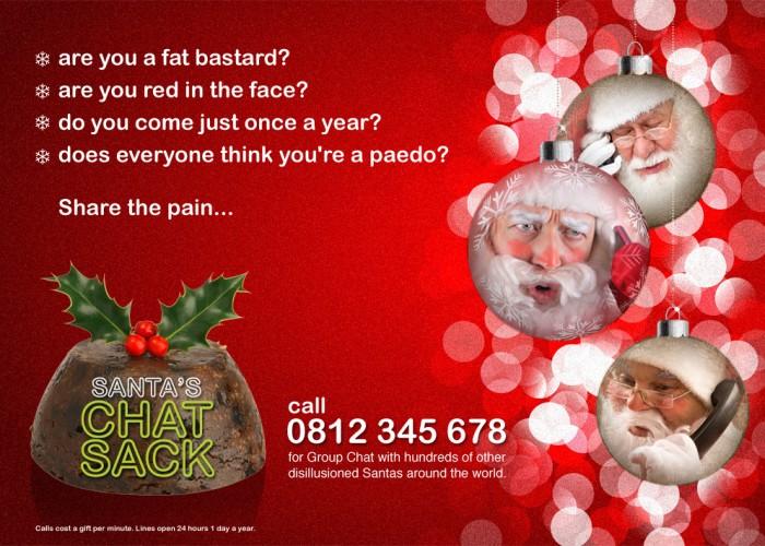 Santa's Chat Sack